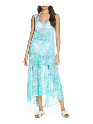 Lilly Pulitzer lilly pulitzer camellia cover-up maxi dress