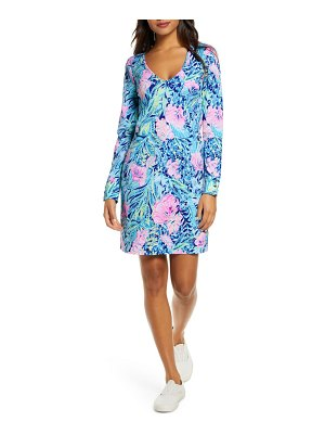 Lilly Pulitzer lilly pulitzer davie floral long sleeve dress