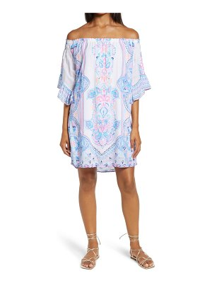 Lilly Pulitzer lilly pulitzer fawna off the shoulder dress