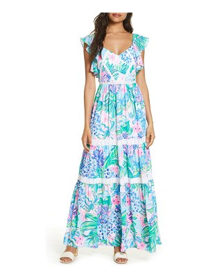 Lilly Pulitzer lilly pulitzer ivie maxi dress