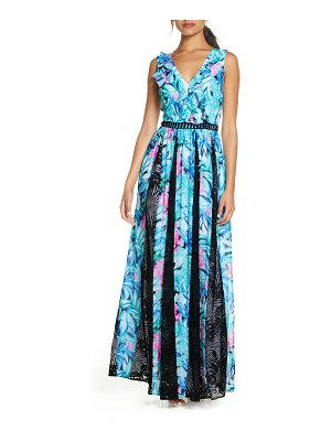 Lilly Pulitzer lilly pulitzer janette fit & flare maxi dress