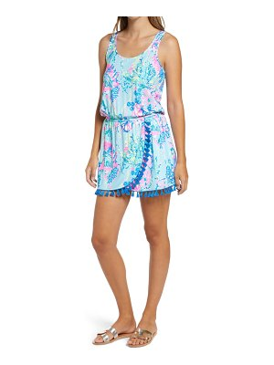 Lilly Pulitzer lilly pulitzer jarrett sleeveless romper