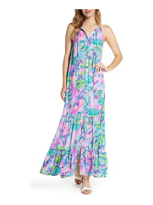 Lilly Pulitzer lilly pulitzer luliana button front maxi dress