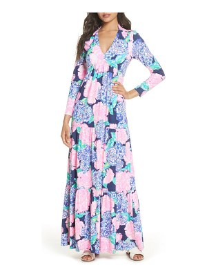 Lilly Pulitzer lilly pulitzer martinique long sleeve maxi dress