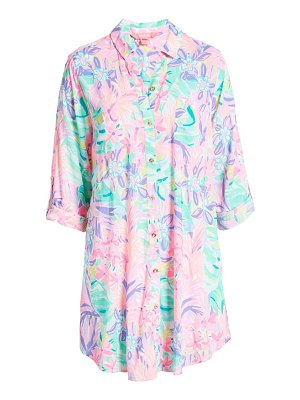 Lilly Pulitzer lilly pulitzer natalie cover-up shirtdress