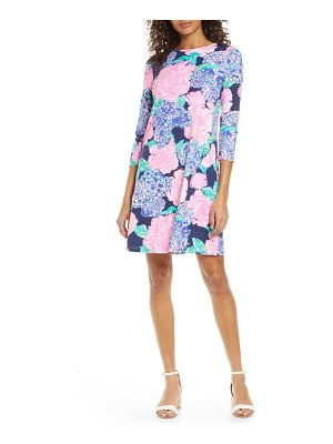 Lilly Pulitzer lilly pulitzer ophelia floral print shift dress