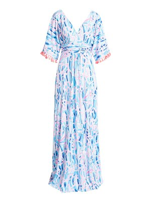 Lilly Pulitzer lilly pulitzer parigi maxi dress