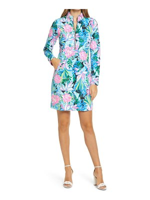 Lilly Pulitzer lilly pulitzer skipper print upf 50+ long sleeve cover-up dress