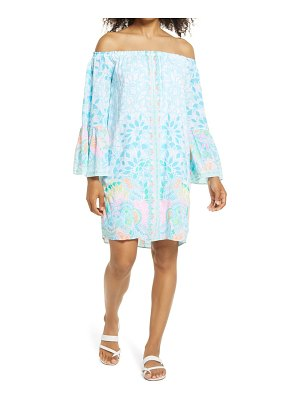 Lilly Pulitzer lilly pullitzer nevie off the shoulder dress