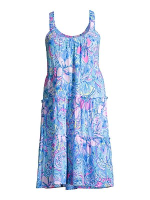Lilly Pulitzer loro floral dress