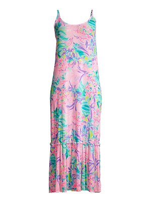 Lilly Pulitzer winni maxi cover-up dress