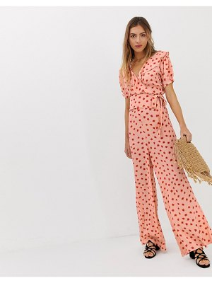 Lily and Lionel lily & lionel exclusive wide leg pants in cosmos-pink