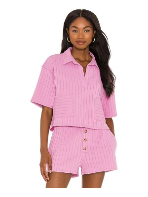 Line & Dot bexley collared top