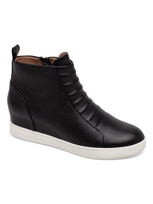Linea Paolo ashley high top wedge sneaker boot