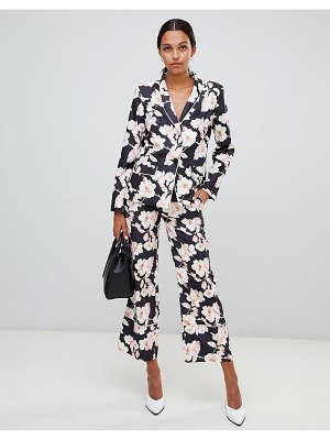 Liquorish floral wide leg pants