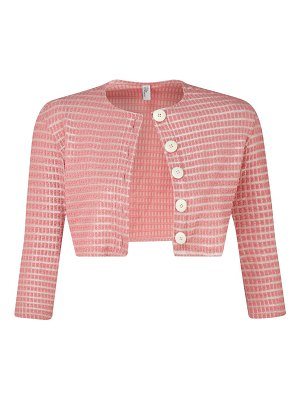 Lisa Marie Fernandez cropped button-front cardigan