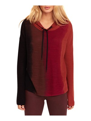 Lisa Todd Throwin Shade Hooded Cotton Sweater
