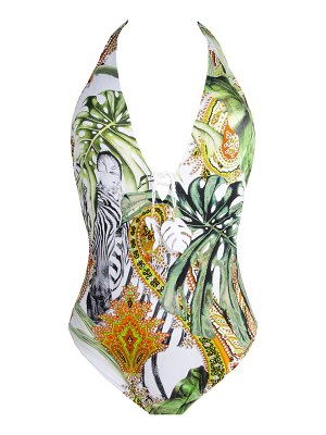 Lise Charmel N/W Seduction Halter One-Piece Swimsuit