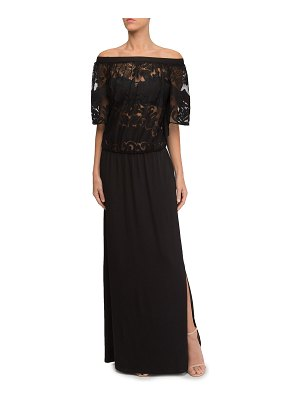 Lise Charmel Perfect Allure Lace Top Long Beach Dress