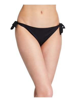 Lise Charmel Side-Tie Eyelet Bikini Swim Bottoms with Narrow Sides