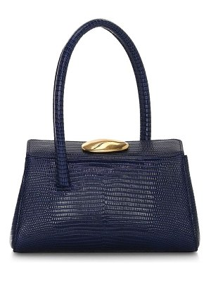 Little Liffner baby boss lizard-embossed leather bag