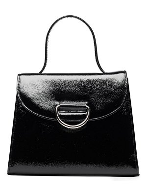 Little Liffner lady patent leather top handle bag