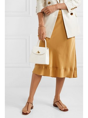 Little Liffner little lady patent-leather tote