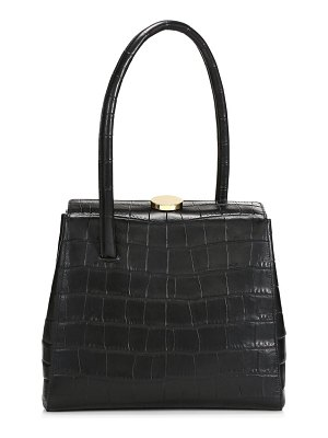 Little Liffner madame croc-embossed leather top handle bag