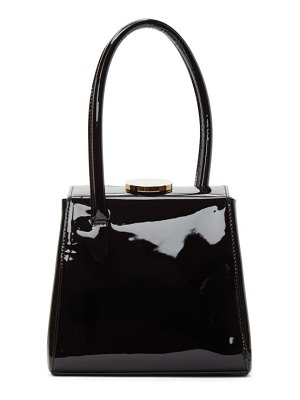 Little Liffner patent mademoiselle bag