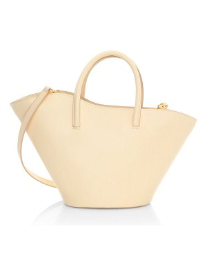 Little Liffner small tulip open leather tote