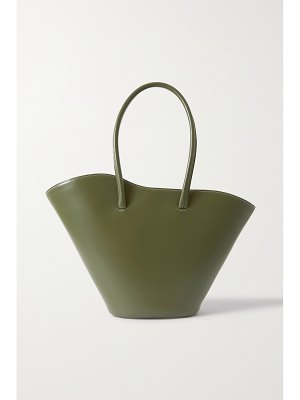 Little Liffner tall tulip leather tote
