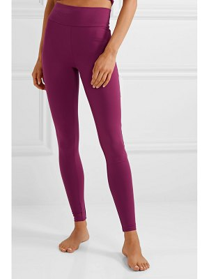 LIVE THE PROCESS tuxedo stretch-supplex leggings