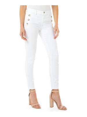 Liverpool abby sailor button skinny jeans