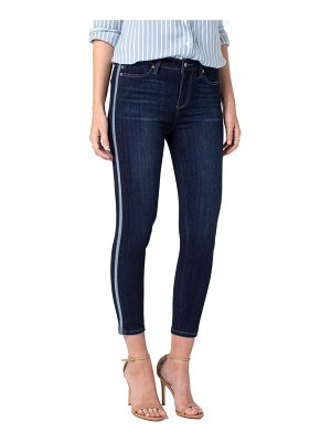 Liverpool abby side stripe crop skinny jeans