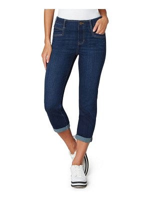 LIVERPOOL LOS ANGELES gia glider crop skinny pull-on jeans