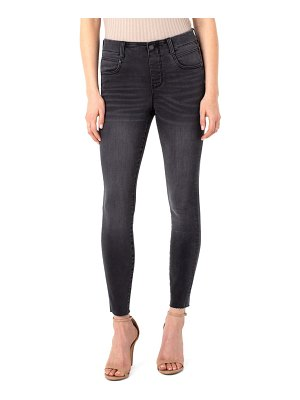 LIVERPOOL LOS ANGELES gia glider pull-on high waist skinny jeans