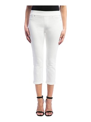 LIVERPOOL LOS ANGELES sienna pull-on stretch crop skinny jeans