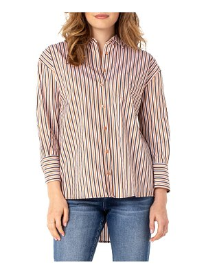 LIVERPOOL LOS ANGELES stripe oversize button-up shirt