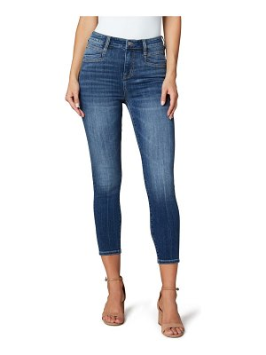 LIVERPOOL LOS ANGELES x living in yellow high waist ankle skinny jeans