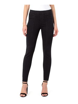 Liverpool seamed moto pull-on jeans