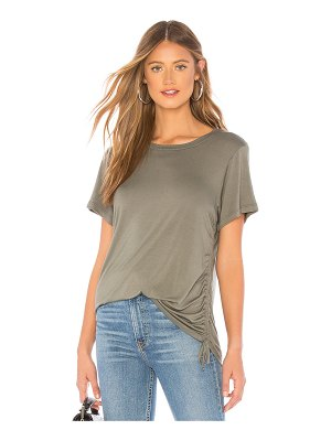 LNA Ari Cinched Side Tee
