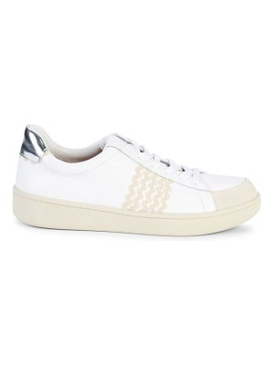 Loeffler Randall Elliot Ric Rac Leather Sneakers