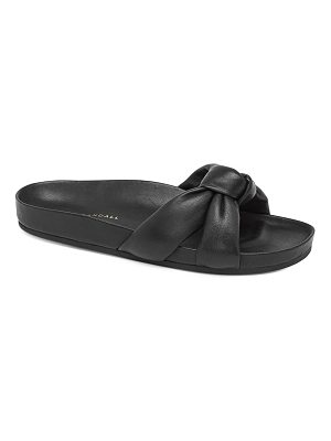 Loeffler Randall gertie leather slides