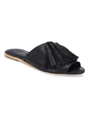 Loeffler Randall Kiki Tassel Leather Slides