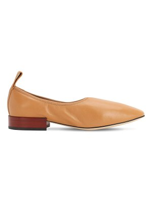 Loewe 20mm leather ballerinas