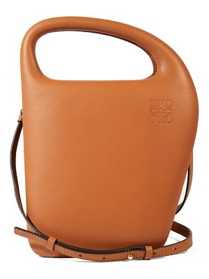 Loewe architects d leather top handle bag