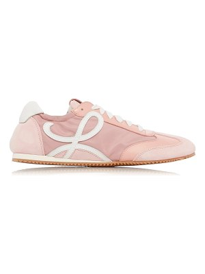 Loewe ballet runner leather sneakers