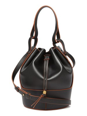 Loewe balloon medium leather shoulder bag