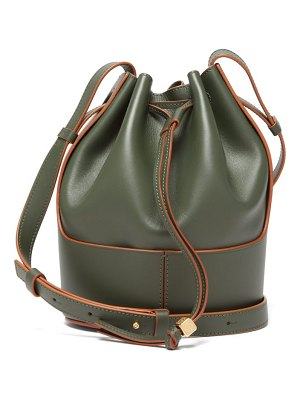 Loewe balloon small leather shoulder bag
