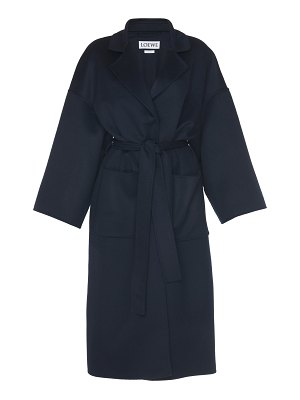 Loewe belted wool coat size: l